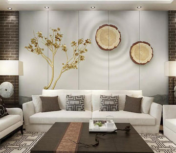 3D Branches WC174 Wall Murals