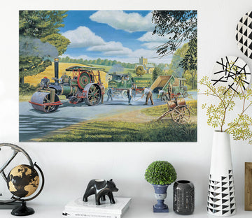 3D The Road Menders 076 Trevor Mitchell Wall Sticker