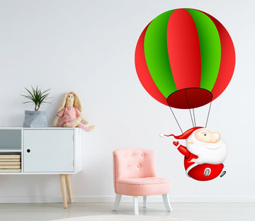 3D Santa Claus Parachute 37 Wall Stickers Wallpaper AJ Wallpaper