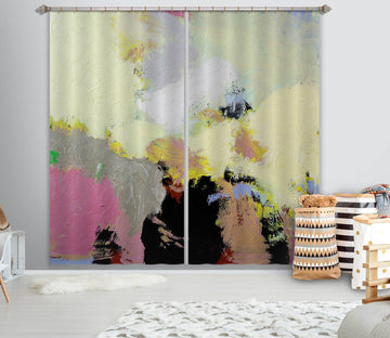 3D Abstract Painting 237 Allan P. Friedlander Curtain Curtains Drapes Curtains AJ Creativity Home
