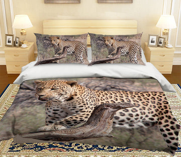 3D South American leopard 1994 Bed Pillowcases Quilt