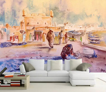 3D Color Graffiti 1091 Wall Murals