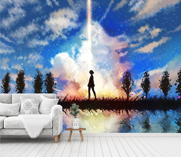 3D Sky Background 52