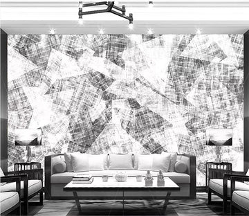 3D Grey Pattern 2788 Wall Murals