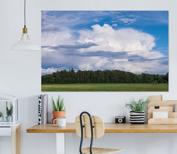 3D Summer Cloud 124 Jerry LoFaro Wall Sticker