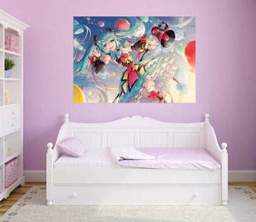 3D Hatsune Miku 035 Anime Wall Stickers