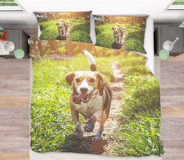 3D Dog 21030 Bed Pillowcases Quilt