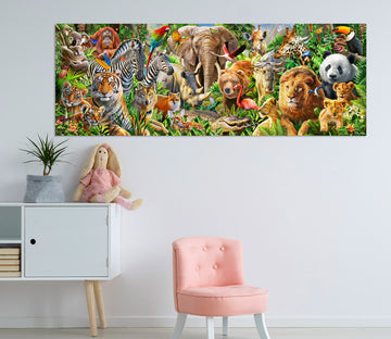 3D Animal World 017 Adrian Chesterman Wall Sticker
