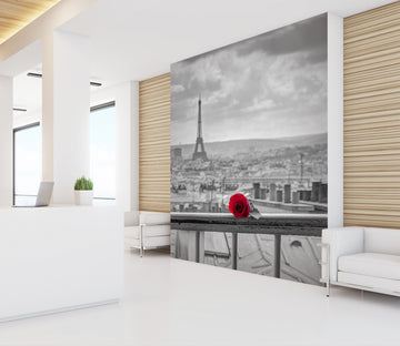 3D Rose Eiffel Tower 108 Assaf Frank Wall Mural Wall Murals