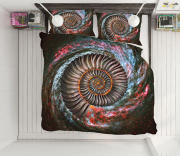 3D Starry Sky Vortex 18058 Jerry LoFaro bedding Bed Pillowcases Quilt