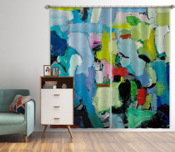3D Abstract Art 174 Allan P. Friedlander Curtain Curtains Drapes Curtains AJ Creativity Home