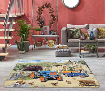 3D The New Major 1112 Trevor Mitchell Rug Non Slip Rug Mat
