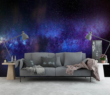 3D Blue Galaxy 1139 Wall Murals