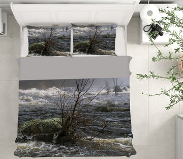 3D Misty River 1013 Jerry LoFaro bedding Bed Pillowcases Quilt