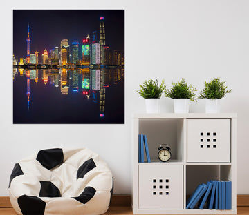 3D Colored Lights 174 Marco Carmassi Wall Sticker