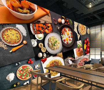 3D Delicious Food 1081 Wall Murals