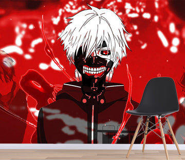 3D Tokyo Ghoul 068 Anime Wall Murals