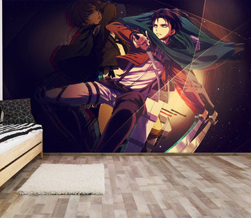 3D Attack On Titan 089 Anime Wall Murals