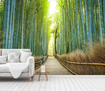 3D Bamboo Forest 1526 Wall Murals Wallpaper AJ Wallpaper 2