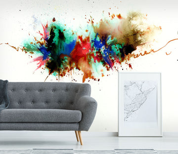 3D Color Splash 1409 Anne Farrall Doyle Wall Mural Wall Murals