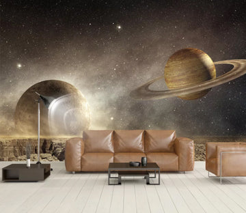 3D Cosmic Planet WC906 Wall Murals