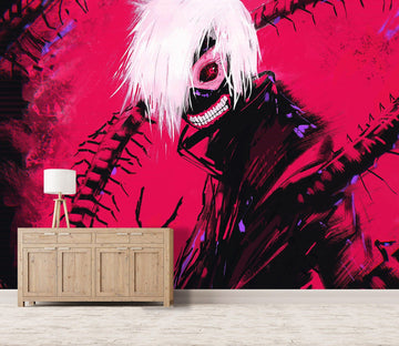 3D Tokyo Ghoul 067 Anime Wall Murals