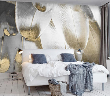 3D Fantasy Feather 84 Wall Murals
