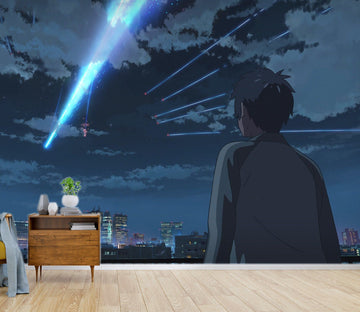 3D Your Name 079 Anime Wall Murals