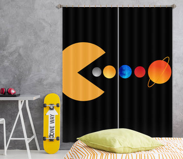 3D Colored Balls 1145 Boris Draschoff Curtain Curtains Drapes