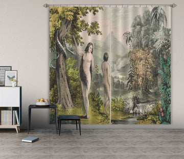 3D Adam Eve Garden 037 Andrea haase Curtain Curtains Drapes Curtains AJ Creativity Home