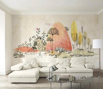 3D Forest Animals WC095 Wall Murals