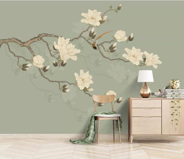 3D Flower Tree 689 Wall Murals