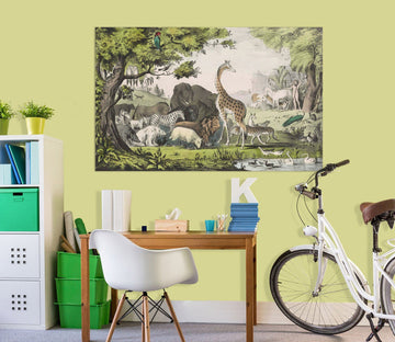 3D Animal World 011 Andrea haase Wall Sticker Wallpaper AJ Wallpaper 2