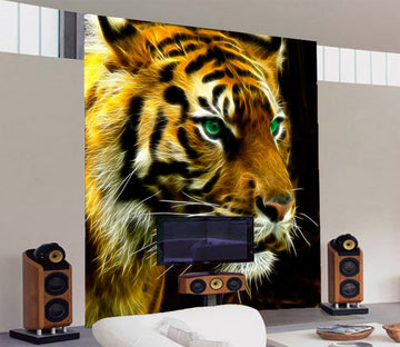 3D Big Tiger 234 Wall Murals