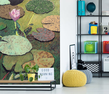3D Colored Pond 287 Allan P. Friedlander Wall Mural Wall Murals