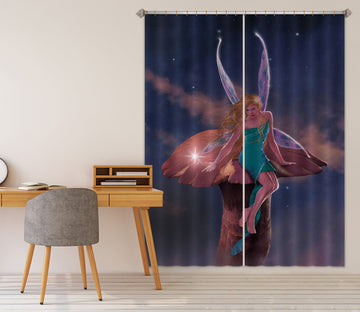 3D A Fairy's Wish 003 Vincent Hie Curtain Curtains Drapes Curtains AJ Creativity Home