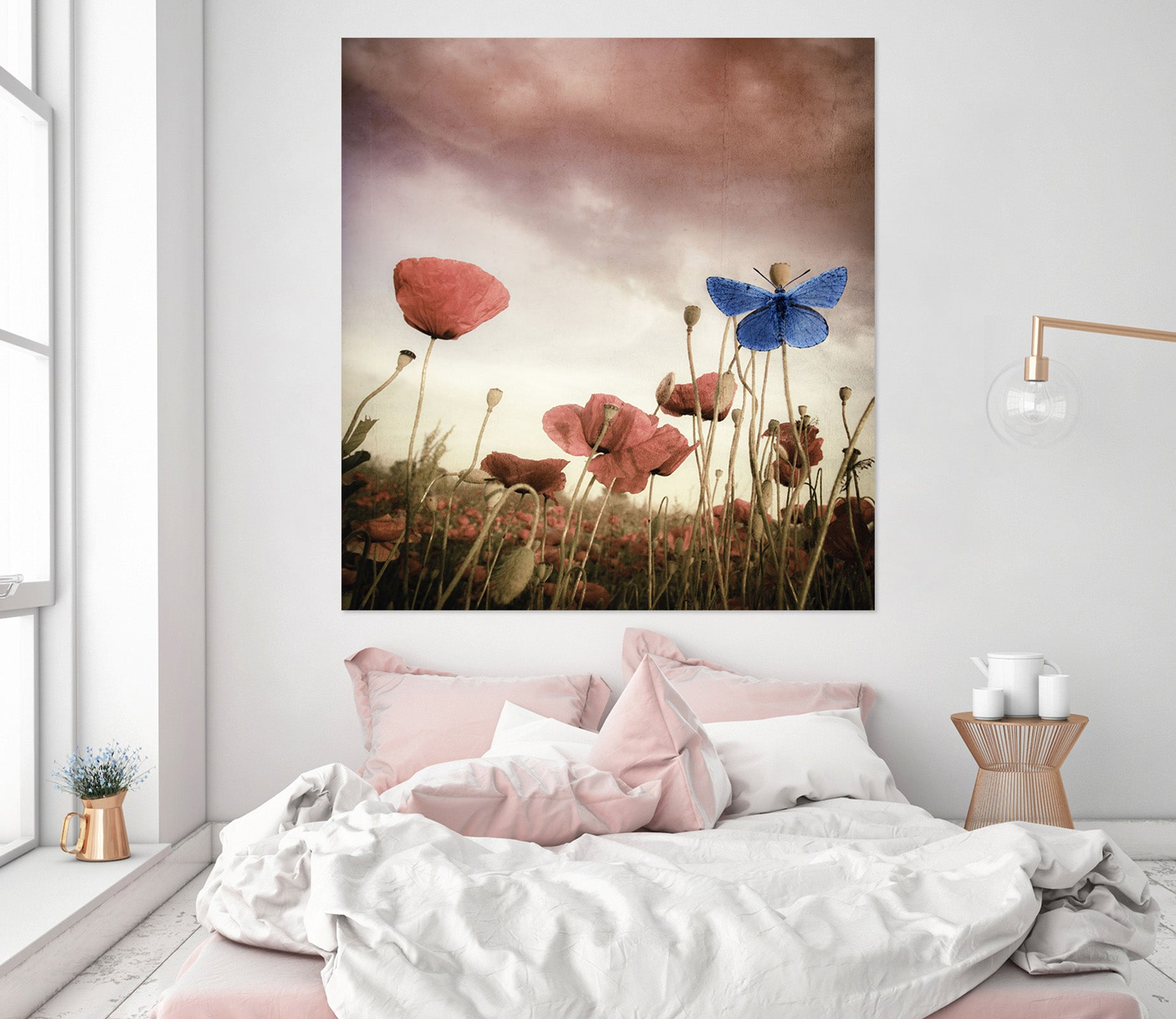 3D Prairie Flowers 233 Marco Carmassi Wall Sticker