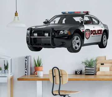 3D American Police Car 0003 Vehicles Wallpaper AJ Wallpaper