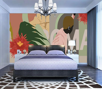 3D Color Graffiti 1073 Wall Murals