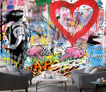 3D Interesting Graffiti 1 Wallpaper AJ Wallpaper 2