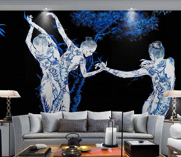 3D Dance 403 Wall Murals