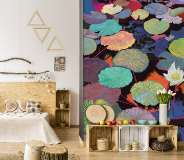 3D Lotus Bloom 289 Allan P. Friedlander Wall Mural Wall Murals