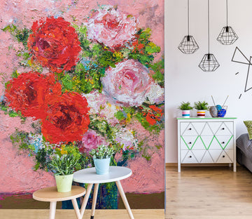 3D Beautiful Bouquet 260 Allan P. Friedlander Wall Mural Wall Murals