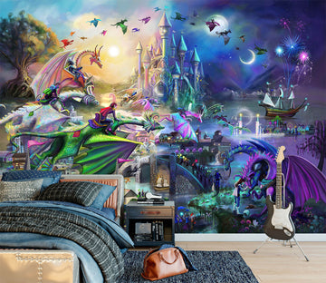 3D Mysterious World 1408 Rose Catherine Khan Wall Mural Wall Murals
