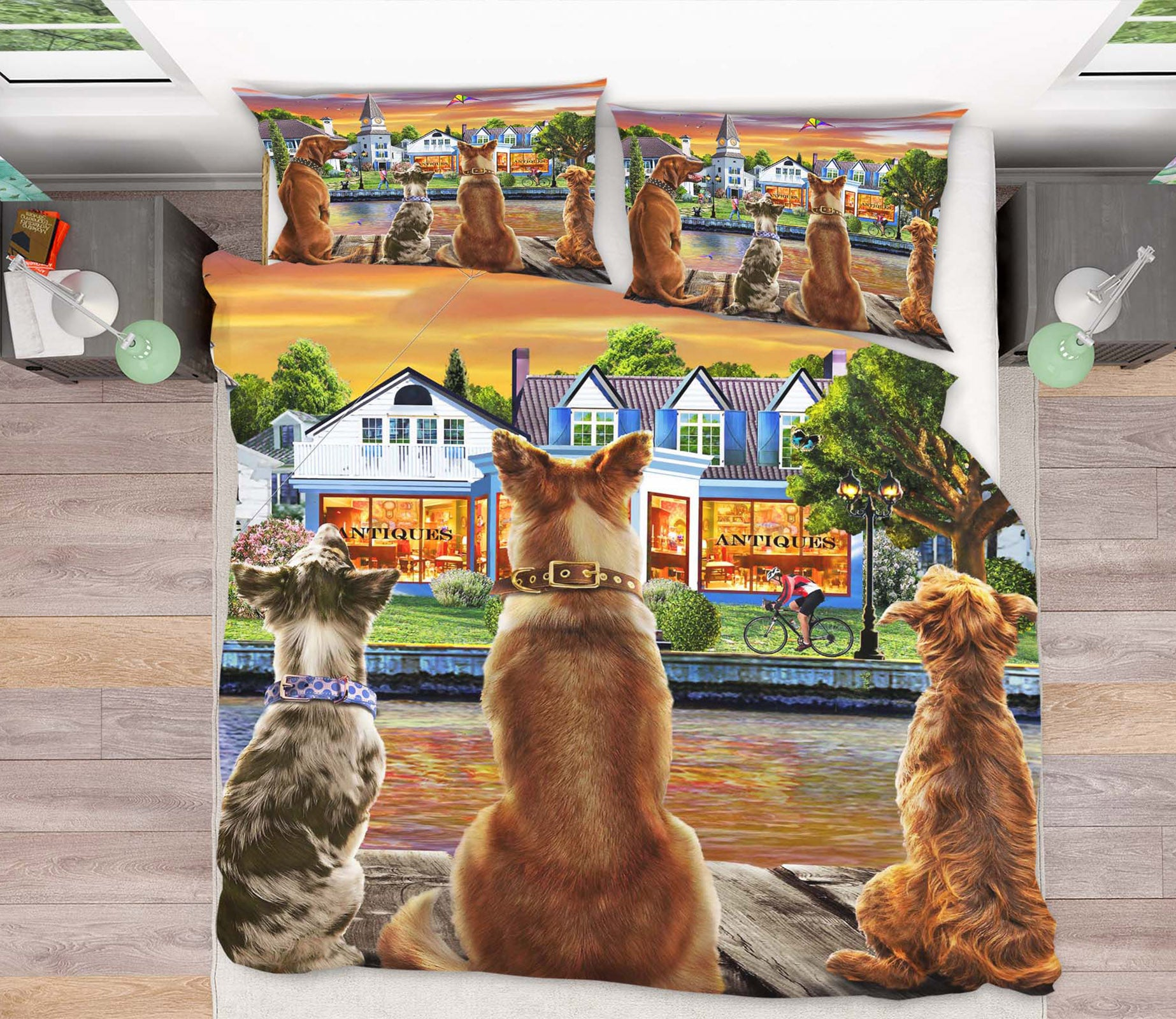 3D Dog Guard 2047 Adrian Chesterman Bedding Bed Pillowcases Quilt