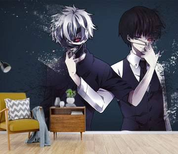 3D Tokyo Ghoul 063 Anime Wall Murals