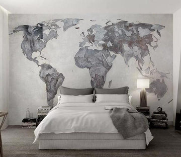 3D Irregular Pattern 1244 Wall Murals
