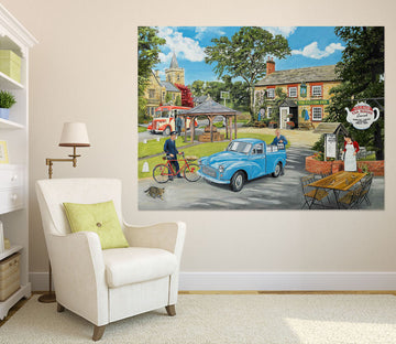3D The Village Tearooms 086 Trevor Mitchell Wall Sticker