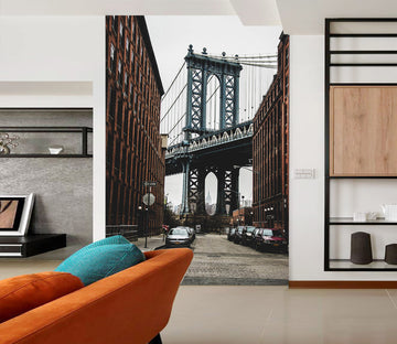 3D Architectural Design 424 Vehicle Wall Murals
