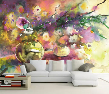 3D Color Graffiti 2323 Wall Murals